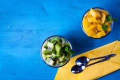 Dietetic efterrätt fotografering för bildbyråer