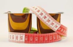 dietetic efterrätter royaltyfri fotografi