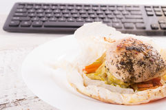 Dietetic food for work. Lunch at work. Stock Photography