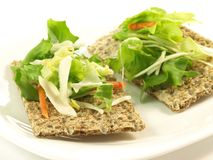 Dietetic frukost royaltyfri fotografi