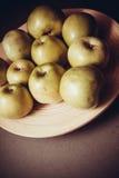 Dietetic green apples Royalty Free Stock Photo