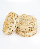 Dietetic loaves from bran and wheat Royalty Free Stock Image