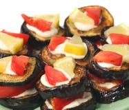 dietetic mat för aptitretande aubergines arkivbild