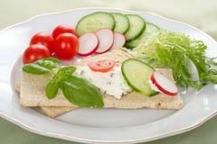 Dietetic Sandwich Stock Images