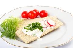 Dietetic Sandwich Royalty Free Stock Photo