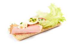 Dietetic Sandwich Stock Photo