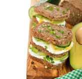 Dietetic sandwich Royalty Free Stock Photography