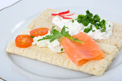Dietetic sandwich Stock Photo