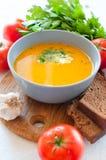Dietetic vegetable soup Stock Photo