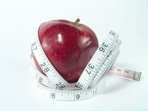 dietetyczną kontrolnej zdrowy wagi Zdjęcie Royalty Free