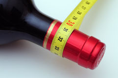 dietetyczna wino Zdjęcia Stock