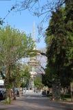 Diethn Ekthesi w Salonik powystawowym terenie Zdjęcia Royalty Free