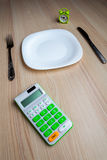 Dietic set on a table Stock Image