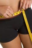 dieting женщина Стоковое Изображение RF