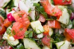 Dieting здоровый салат Стоковые Изображения