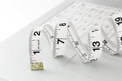 dieting он-лайн Стоковое Изображение RF