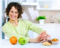 dieting принципиальной схемы Стоковое Изображение