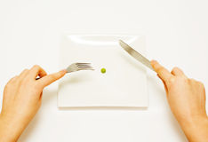 Dieting. Royalty Free Stock Photography
