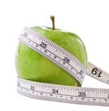 Dieting Apple Royalty Free Stock Photos