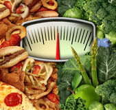 Dieting Choice Stock Photo