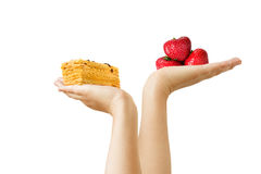 Dieting Royalty Free Stock Photography