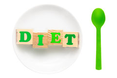 Dieting concept Royalty Free Stock Image