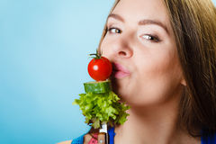 Dieting, healthcare and weight loss concept. Stock Photography