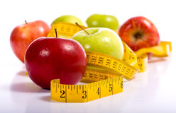 Dieting Items Royalty Free Stock Photography