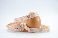 Dieting jajko Zdjęcie Stock