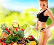 dieting Suivre un régime images stock