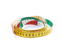 Dieting tape measure  Stock Photography