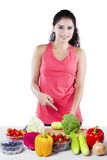 Dieting Vegetarian Concept Royalty Free Stock Photography