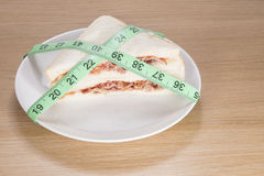 Dieting and weight loss concept Stock Photography