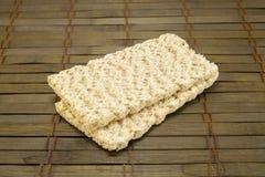 Dietiskt bröd på en tappningbakgrund Royaltyfri Fotografi