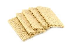 Dietiskt bröd på en vit bakgrund Royaltyfri Foto