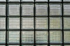Dietro i mattoni dell'erba fotografia stock libera da diritti