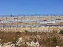 Dietro la parete dell'occupazione Fotografia Stock Libera da Diritti