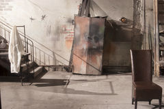 Dietro scena-dentro una stanza del teatro Immagine Stock Libera da Diritti