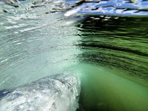 Dietro Wave fotografia stock libera da diritti