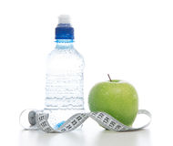 Dietting breakfast diabetes weight loss concept Royalty Free Stock Photos
