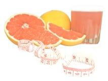 diety grapefruit Zdjęcie Stock
