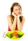 diety kobieta nierada target2313_0_ Obraz Royalty Free