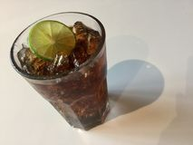 Diety lodowa soda zdjęcie royalty free