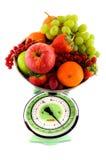 diety owoc skala Obraz Royalty Free