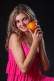 diety pomarańcze Zdjęcia Stock
