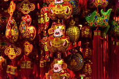 Dieu chinois de la fortune Photographie stock