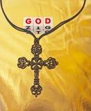 Dieu crucifié Photographie stock