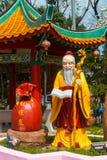 Dieu de mariage et d'amour dans le temple de Thean Hou de Chinois Images stock
