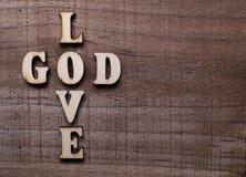 Dieu est amour Photographie stock