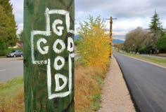 Dieu est bon Images stock